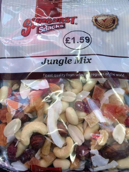 Sunburst Jungle Mix 130g Packet